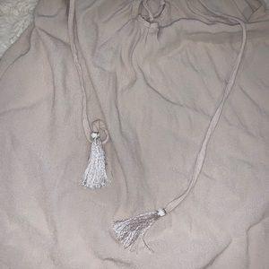 Forever 21 Tops - Forever 21 blouse with tassel strings